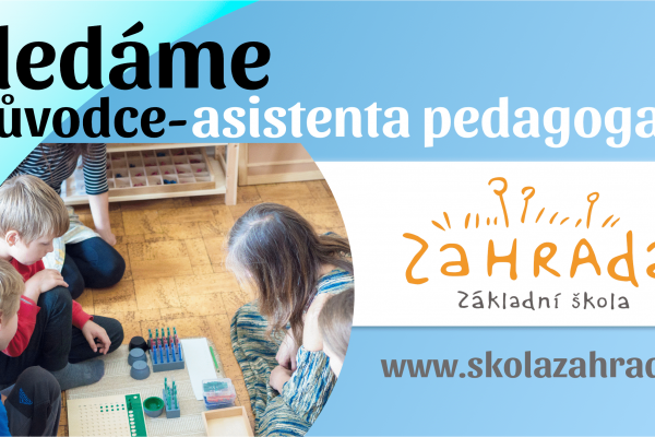 Hledáme Průvodce-asistenta pedagoga